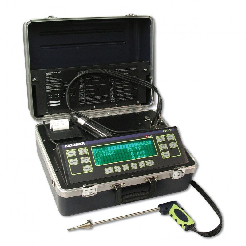 ECA 450 analizator spalin